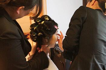 成人式当日のヘアメイクご優待